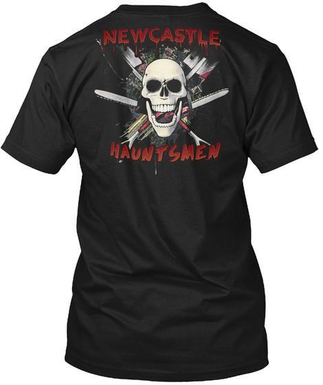 Newcastle Hauntsmen Black T-Shirt Back