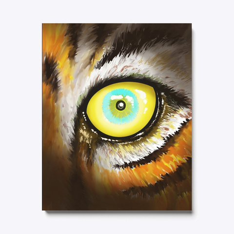Beautiful Mysterious Tigers Eye Black T-Shirt Front