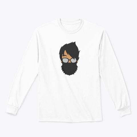 Uae Skills Men's Shirt White Long Sleeve T-Shirt Front