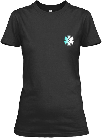 Proud Emt Shirt Black T-Shirt Front