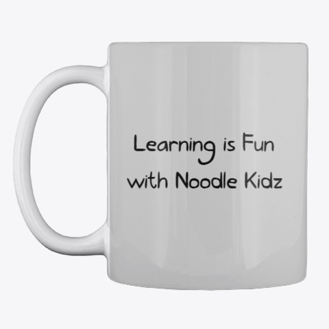 Noodle Kidz Mug Light Grey T-Shirt Front