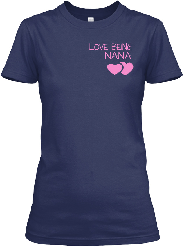 Nana-The-Moment-Tee-Child-Version-Love-Being-Nana-Gildan-Women-039-s-Tee-T-Shirt thumbnail 8