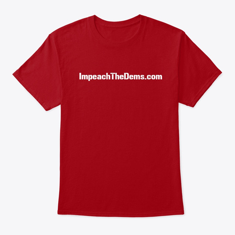 There Is A Reason ... Deep Red T-Shirt Front