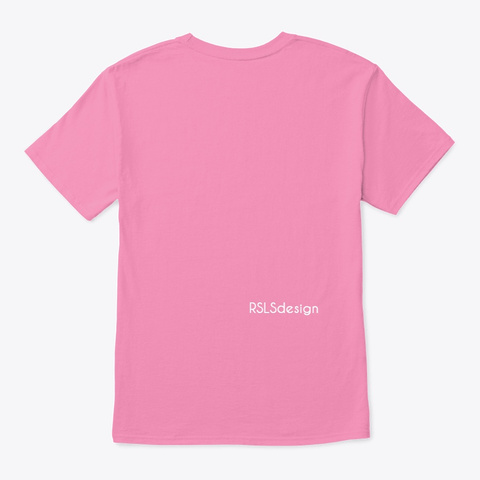 Light It Up With Blue, Autism Awareness. Pink T-Shirt Back