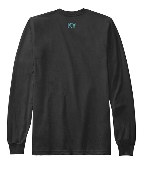 Ky Black T-Shirt Back