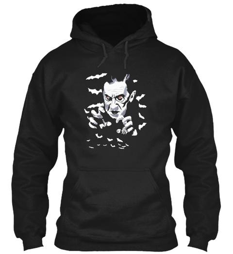 Vampire Black Sweatshirt Front