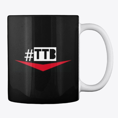 Official #Ttb Mug Black T-Shirt Back