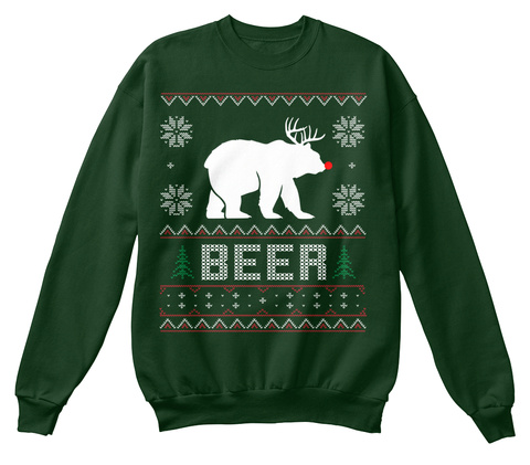 Beer Deep Forest  T-Shirt Front