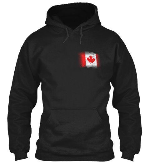 Basket Of Deplorable:Canada Chapter Black T-Shirt Front