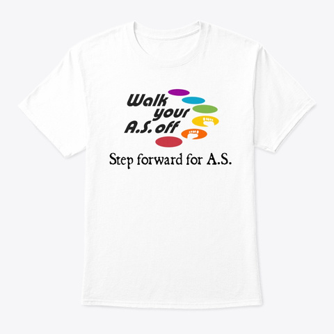 Walk Your As Off 2019   Apparel White T-Shirt Front