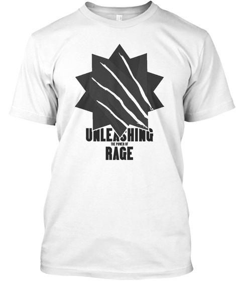 Rage County Shirt (Men) White T-Shirt Front