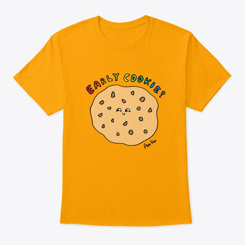Early Cookie   Alto Key Gold T-Shirt Front