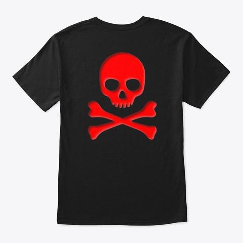 Lol Lag Kills Black T-Shirt Back