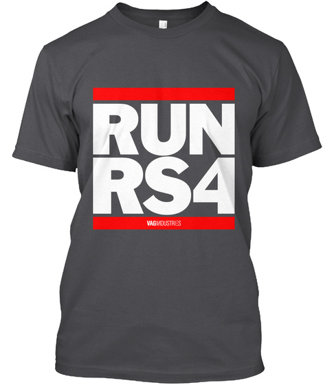 Runrs4 Charcoal T-Shirt Front