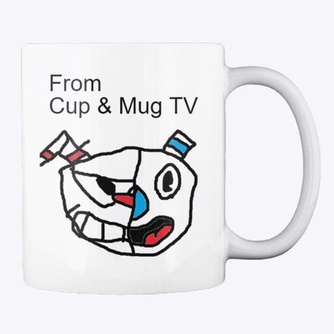 Cup & Mug Tv Halloween Mug White T-Shirt Back