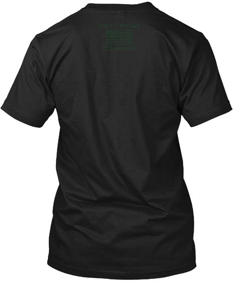 Murph 2018 Flag Green Black T-Shirt Back