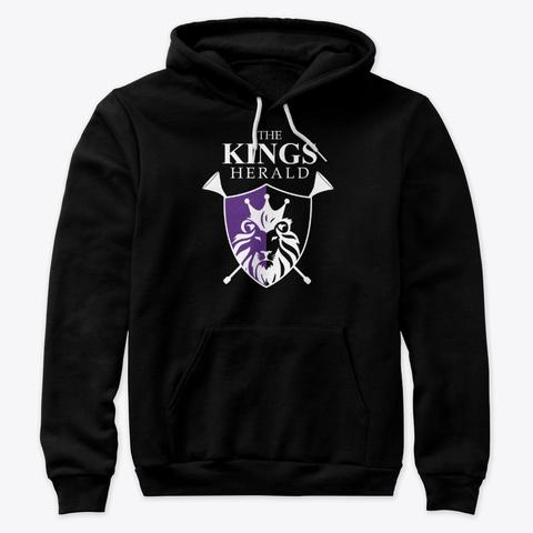 The Kings Herald Logo Shirt/Hoodie Black T-Shirt Front