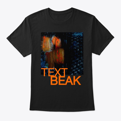 Textbeak Radio 489 Shirt Black T-Shirt Front