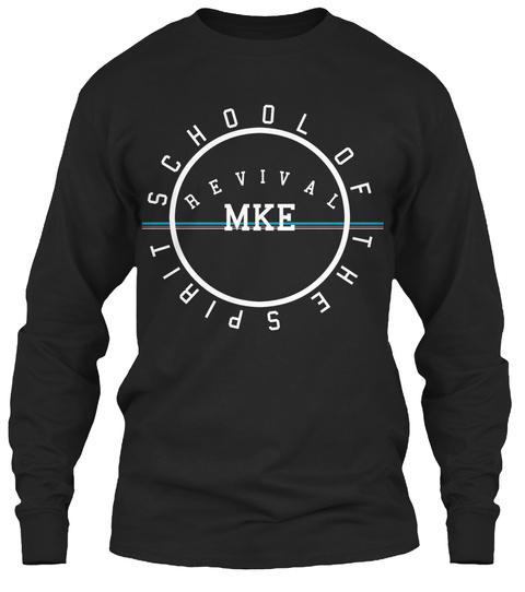 Revival Mke Long Sleeve Tee Black T-Shirt Front