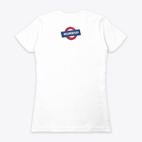 Bombay White Camiseta Back
