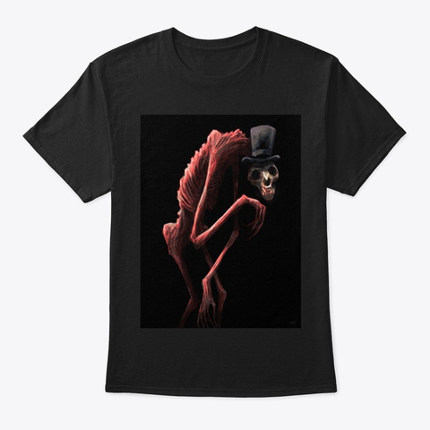 The Tricker Treater Black T-Shirt Front