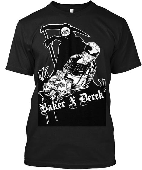 Baker X Derek Black T-Shirt Front