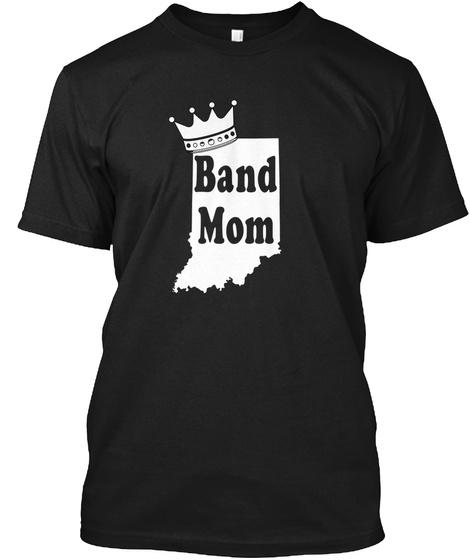 Band Mom Black T-Shirt Front