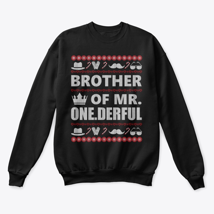 Brother of MrOnederful Ugly Sweater Unisex Tshirt