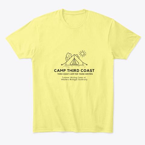 Tcwp Camp Third Coast Tee Lemon Yellow  T-Shirt Front