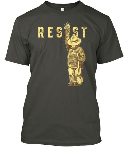 Resist Smoke Gray Camiseta Front