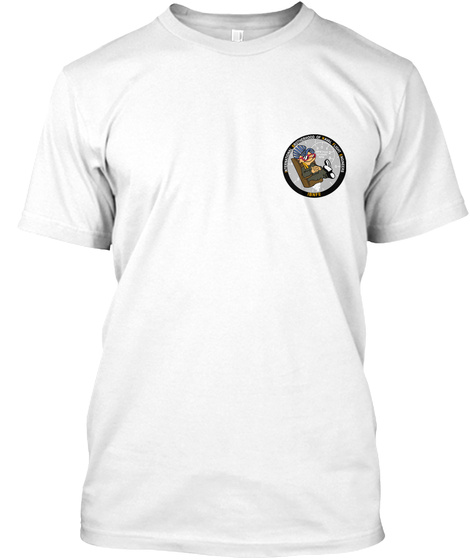 Prop Control Shirt White T-Shirt Front