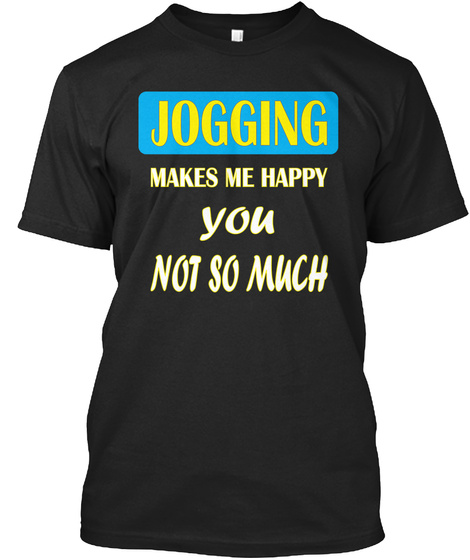Jogging Black Camiseta Front