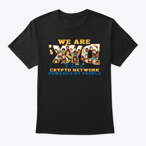 We Are Xyo  Design Black Camiseta Front