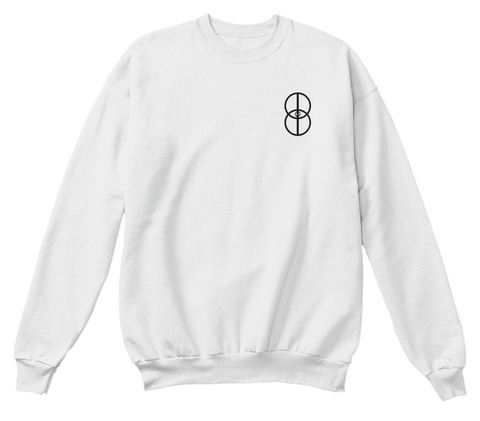 Children Of Burback Sweatshirt White  T-Shirt Front