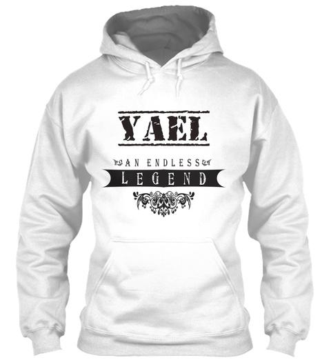 Yael An Endless Legend White T-Shirt Front