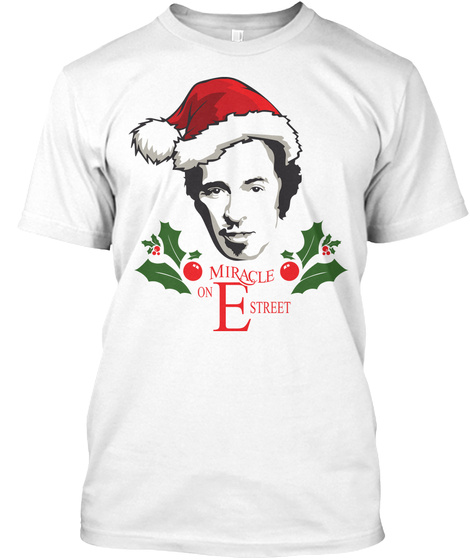 Miracle Of Estreet White T-Shirt Front