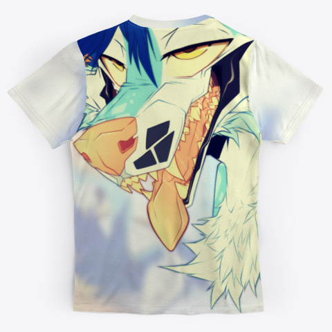 King Collection || All Over Print Tee Standard T-Shirt Back