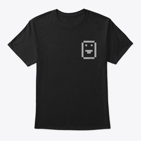 The Original Emoji Black T-Shirt Front