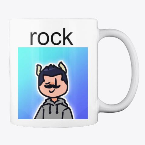 Rick Rock Mug White T-Shirt Back