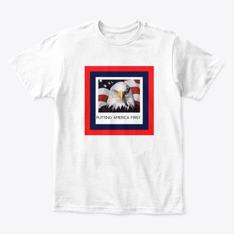 Trump, Gop, Usa, Shirt, Hoodie, Merch White T-Shirt Front