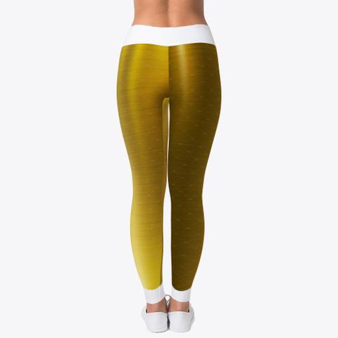 gold color leggings