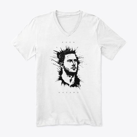 Hazard White T-Shirt Front