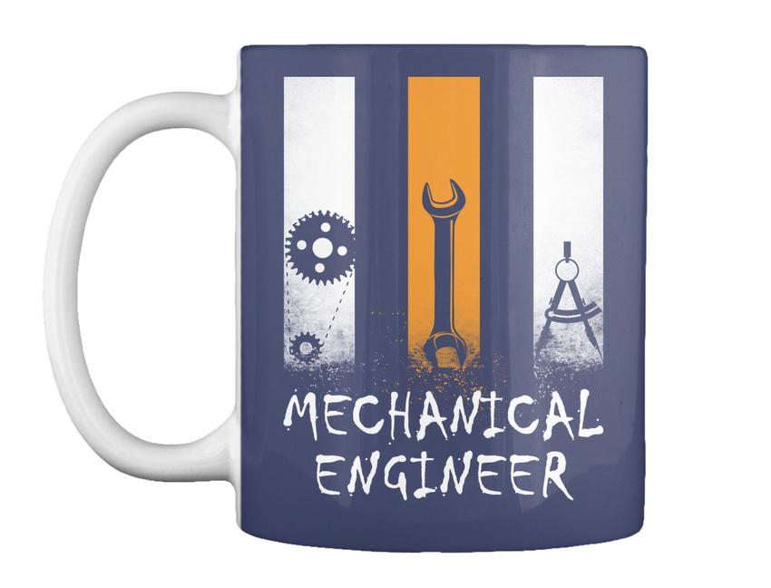 miniature 7 - Stylish Proud Mechanical Engineer - Gift Coffee Mug Gift Coffee Mug