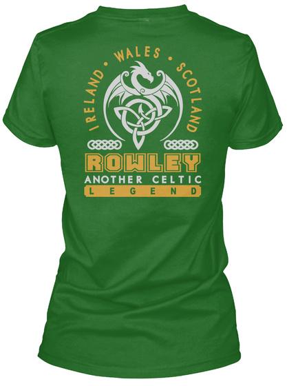 Rowley Another Celtic Thing Shirts Irish Green T-Shirt Back