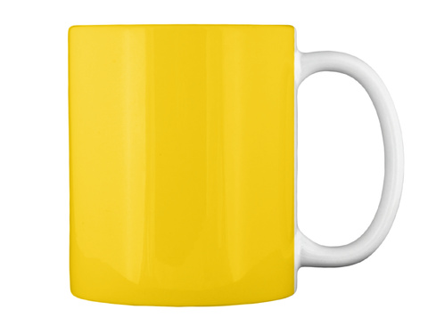 6th Gen Mugs Lemon Yellow T-Shirt Back