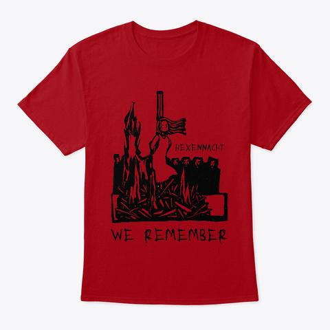 Hexennacht Deep Red T-Shirt Front