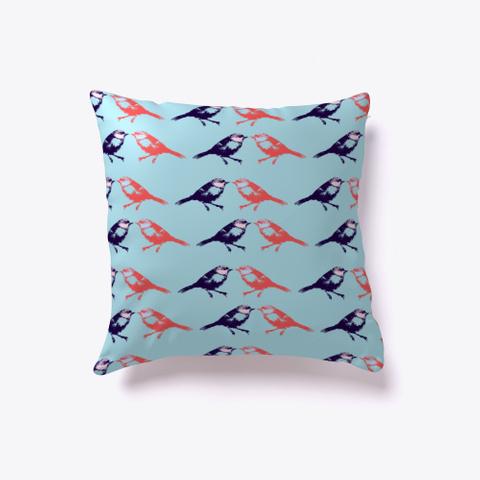 Birder Gift, Birds Pattern Standard T-Shirt Front