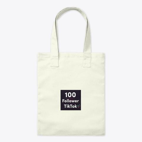 ✌ Fee 100 Tik Tok Followers ✌ No Download Natural T-Shirt Front