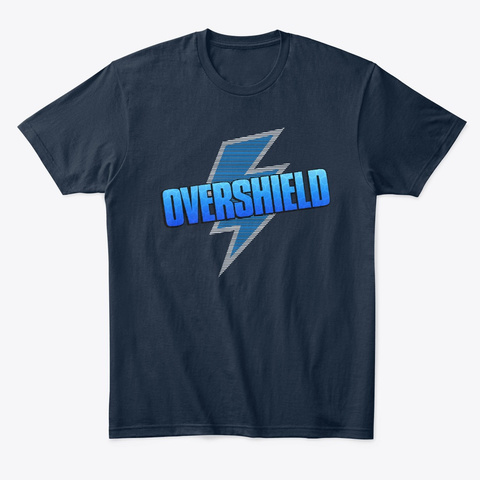 Overshield New Navy T-Shirt Front