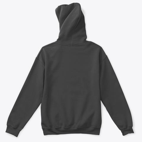 Black Lives Matter Skull Charcoal T-Shirt Back